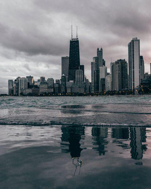 chicago beach water