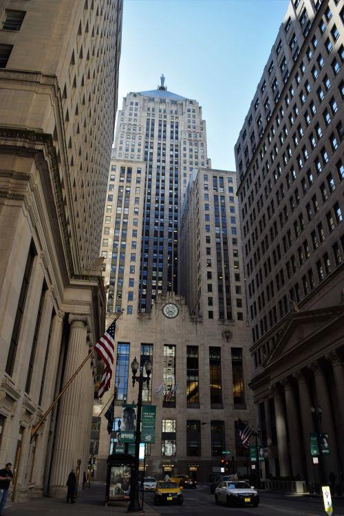 chicago corn exchange skyscraper