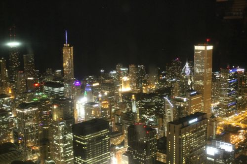 chicago chicago night downtown