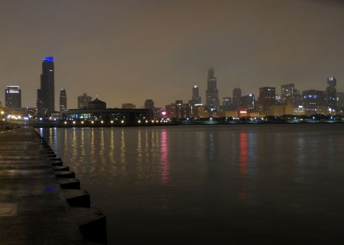 chicago night night image