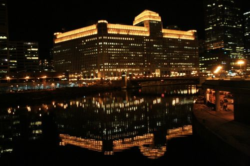 chicago chicago at night night