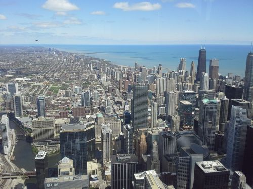 chicago view city
