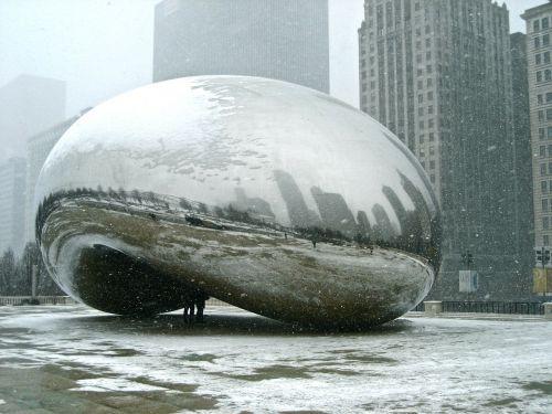 chicago bean artwork chicago