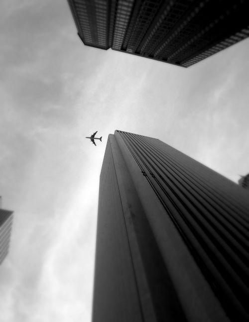 dangoraižis, čigonai, lėktuvas, Chicago dangoraižis