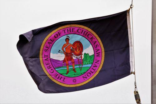 Chickasaw Nation Flag