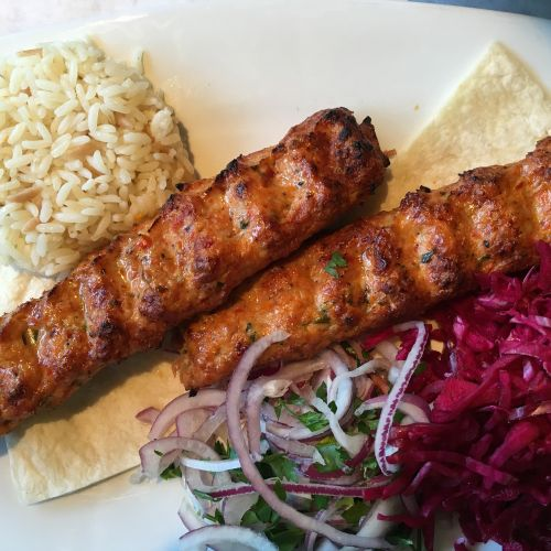 chicken shish kebob