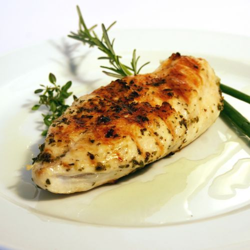 chicken plate filet