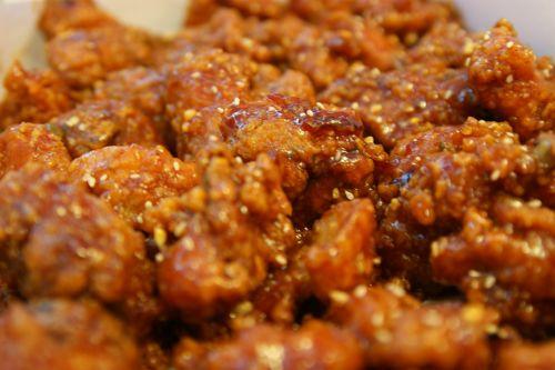 chicken korea food
