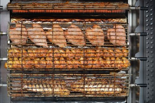 chicken grilling food
