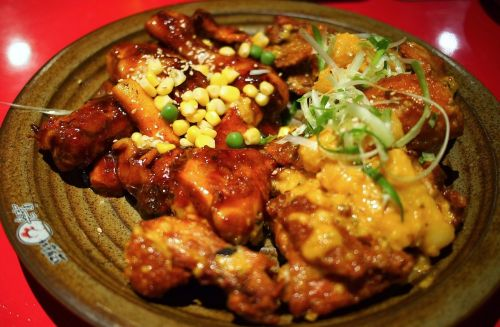 chicken korean dish
