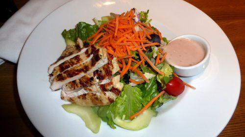 chicken salad food