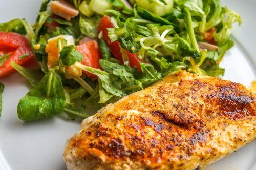 chicken breast filet chicken salad