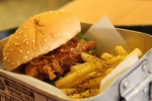 chicken burger burger burgers