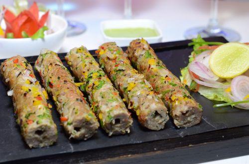 chicken seek kebab mugalai food