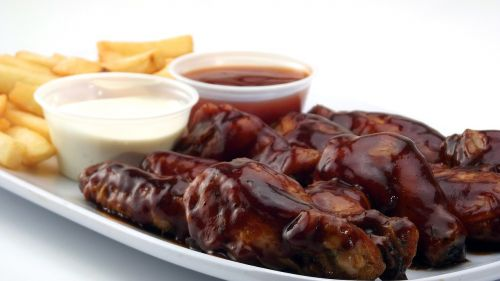chicken wings bbq grilled
