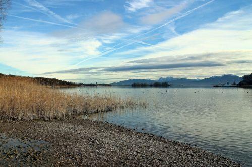 chiemgau chiemsee landscape