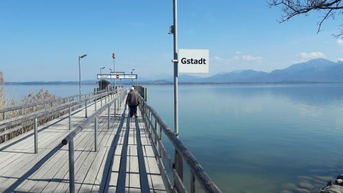chiemsee gstaad jetty