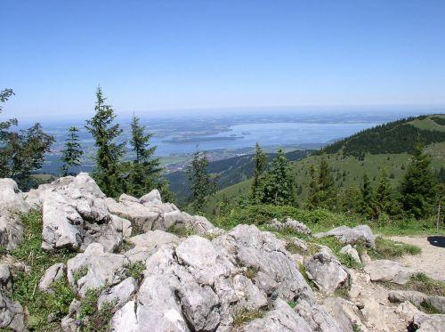 chiemsee kampenwand view
