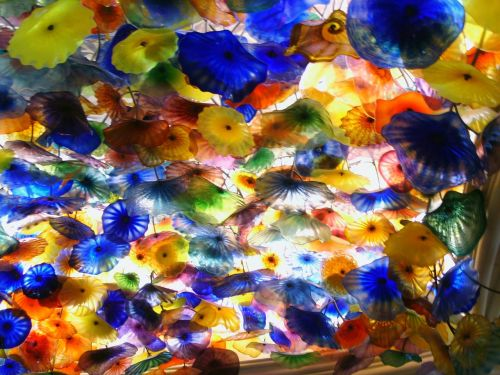 chihuly glass sculpture glass sculpture ceiling