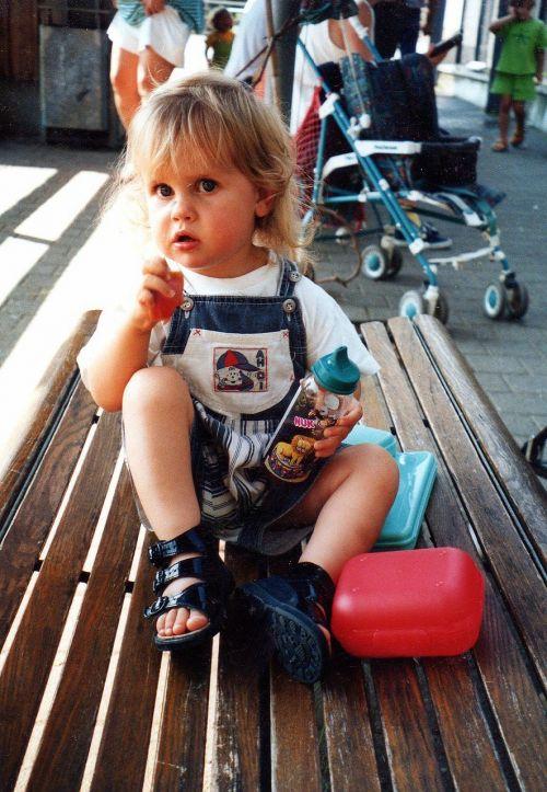 child little girl daughter