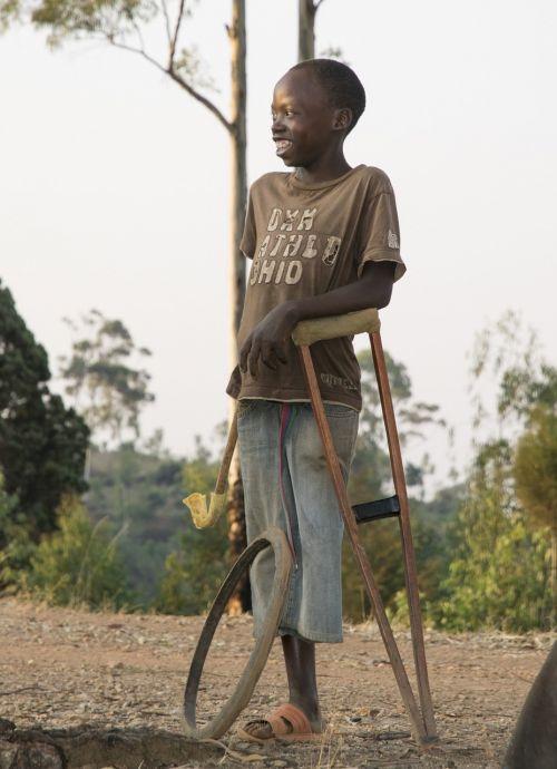 child guy handicapp