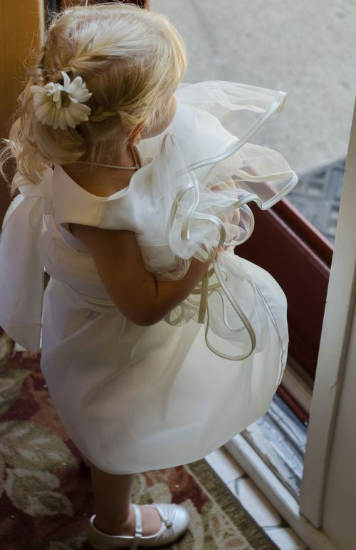 child wedding happiness
