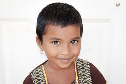 child portrait indian