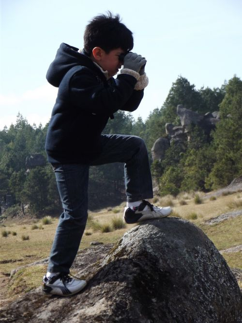 child explorer travel