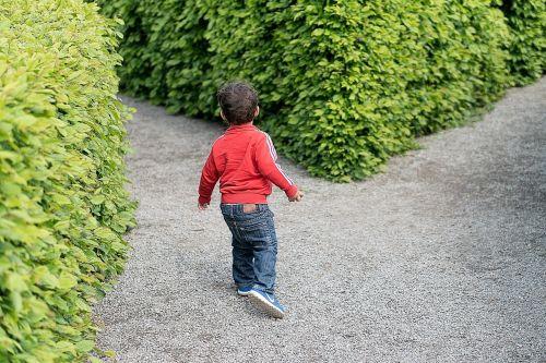child crossroad kid