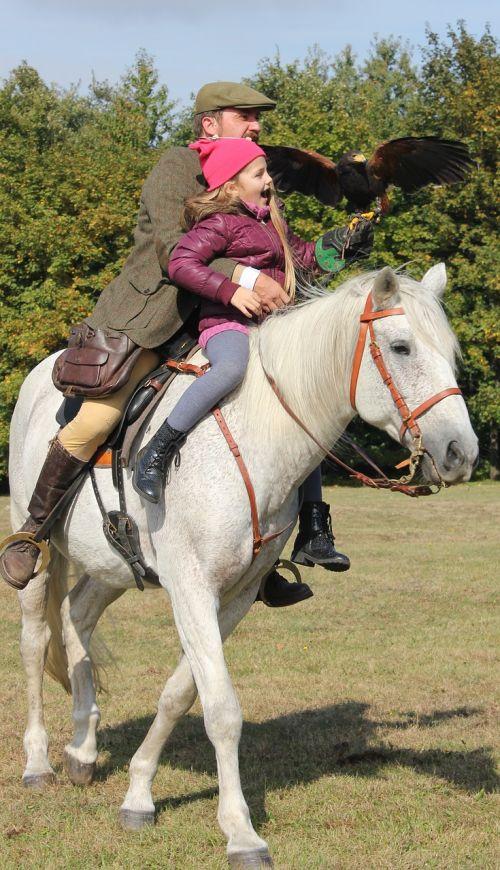 child horse predator