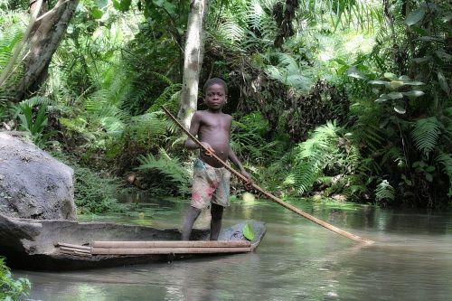 child africa water