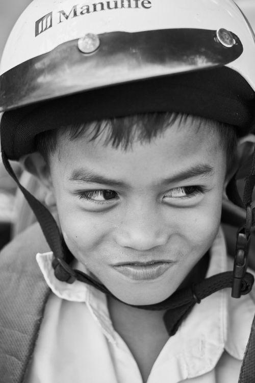 child smile laugh