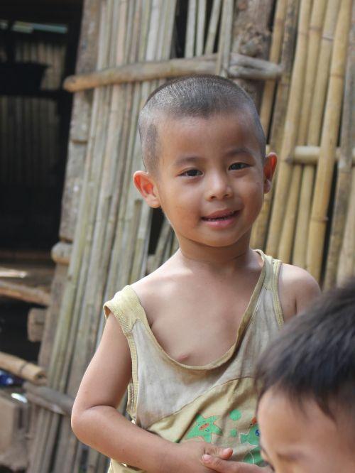 child smile poor