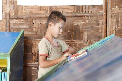 child read book
