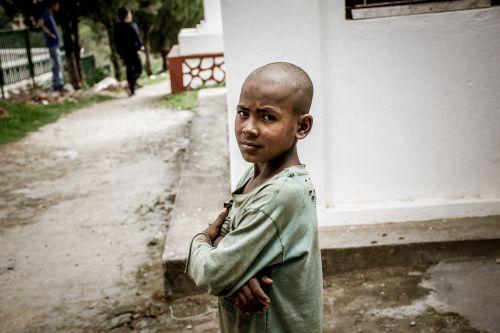 child poor kid
