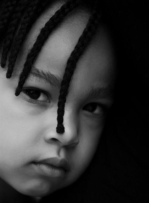 child face person