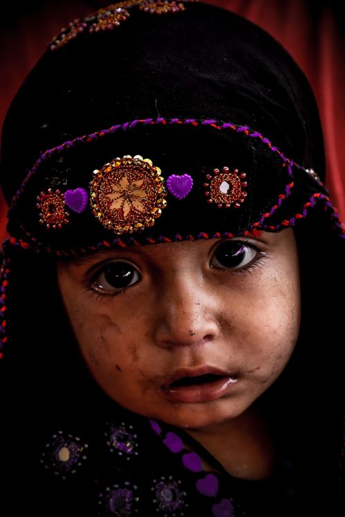 child afghan refugee