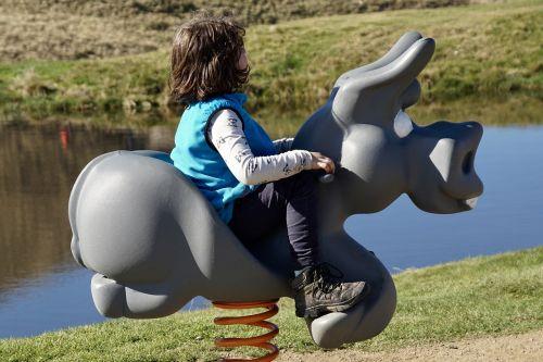 child swing playground
