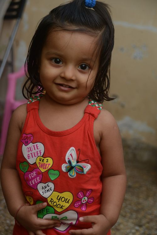 child little cute