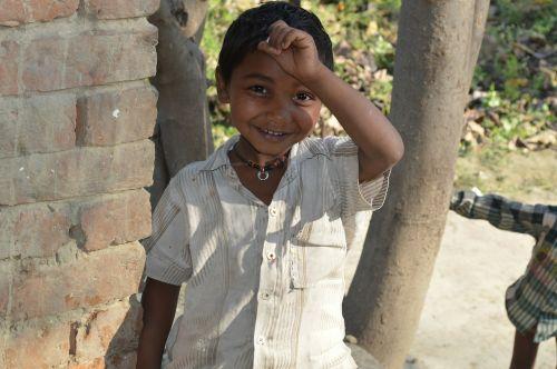 child indian village