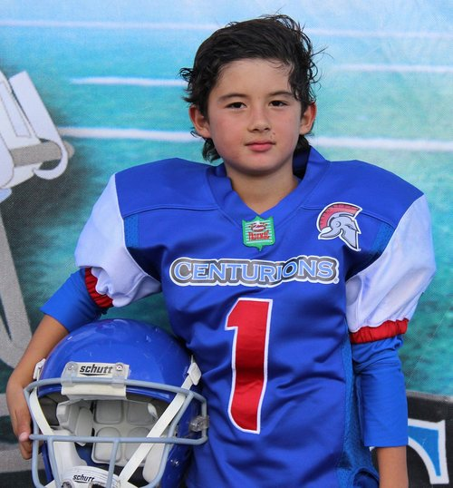 child  american football  quarterback