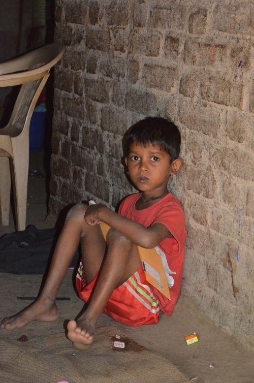 child indian boy