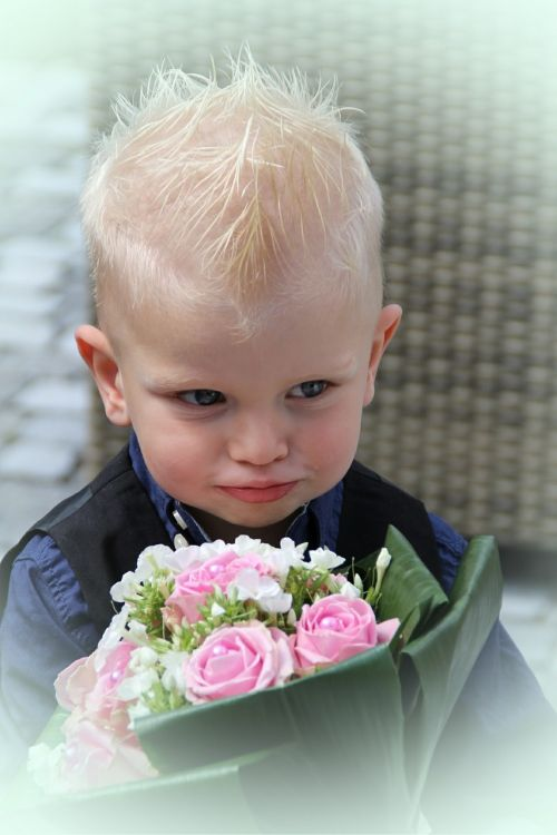 child bouquet wedding