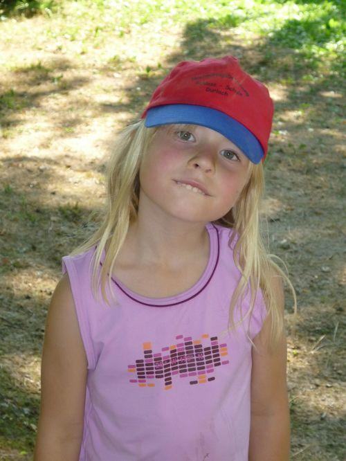 child girl cap