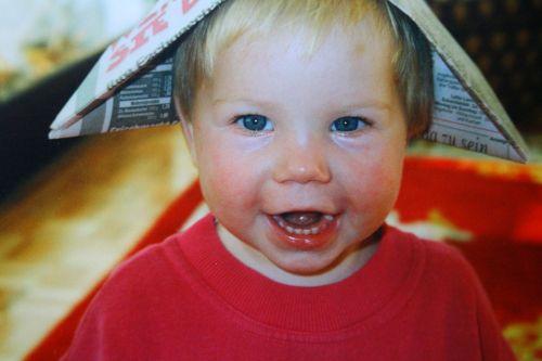 child cheerful laugh