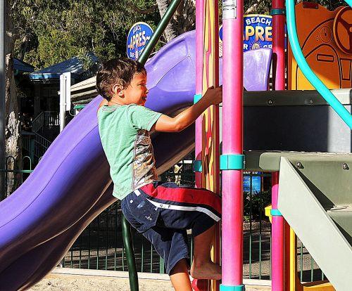 child playground boy