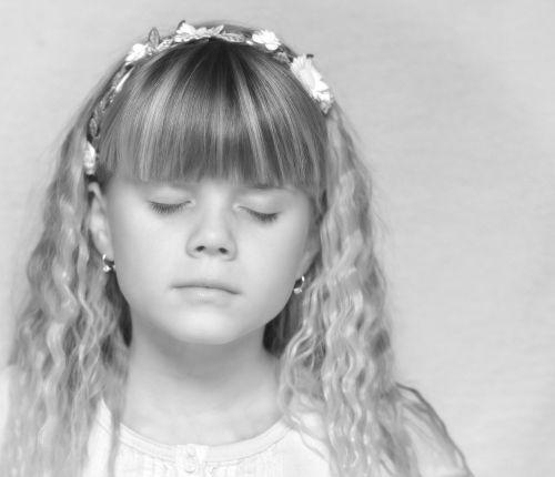 child girl angelic
