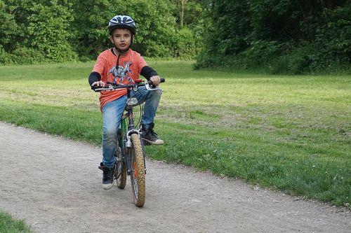 child helmet cyclist sport