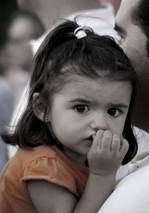 child portrait brunette