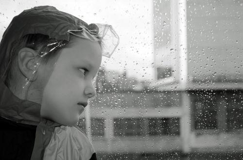 Child In A Raincoat